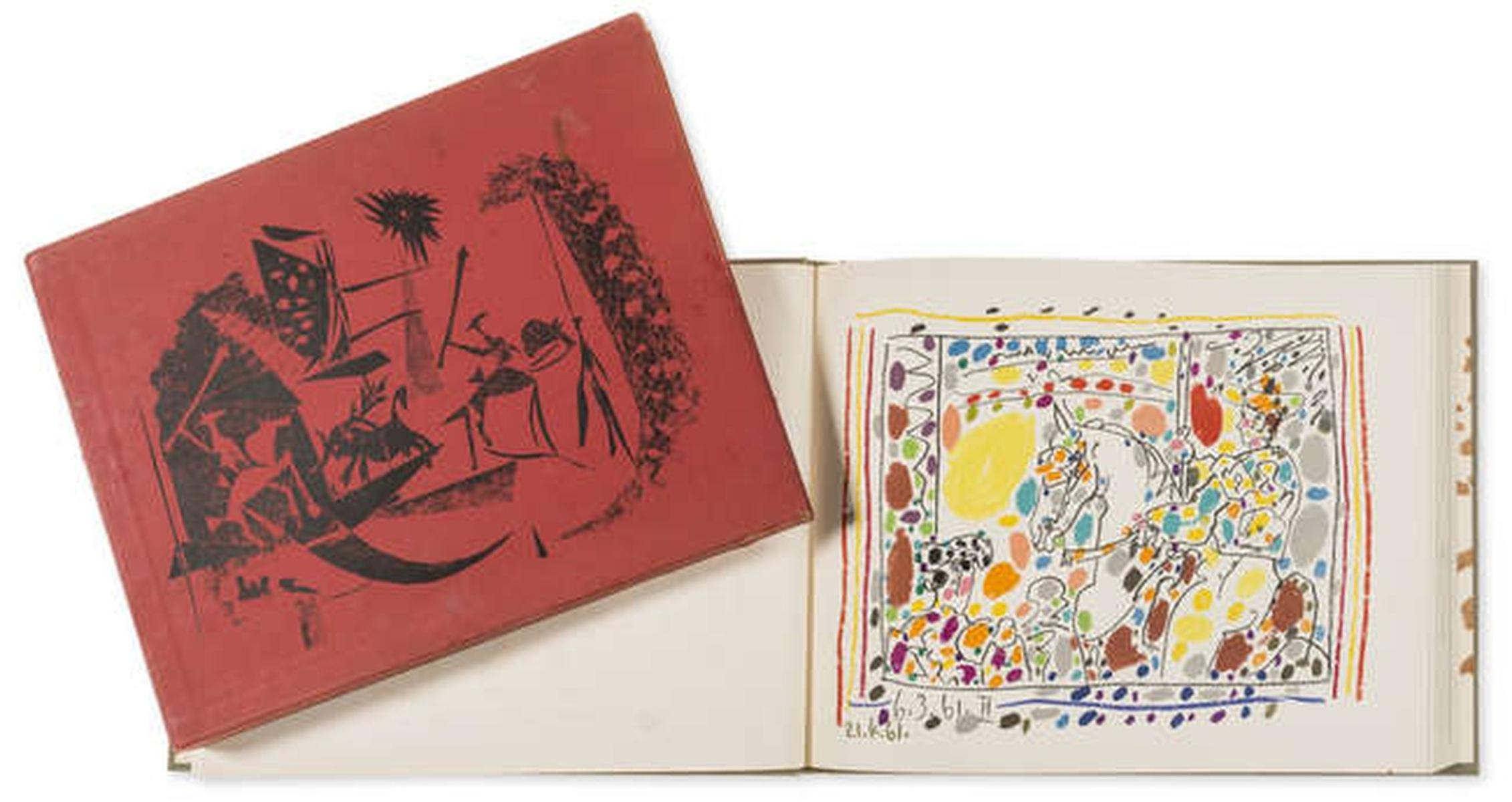Pablo Picasso (1881-1973) A Los Toros avec Picasso, by Jaime Sabartés (Bloch 1014-47; Cramer 113)
