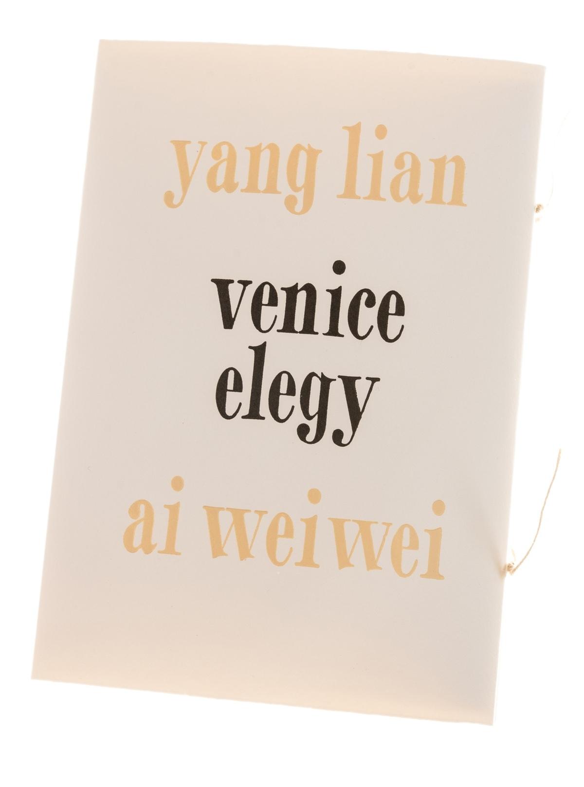 Ai Weiwei (b.1957) Venice Elegy