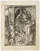 Albrecht Dürer (1471-1528) Christ Presented to the People [Ecce Homo], from: The Small Passion