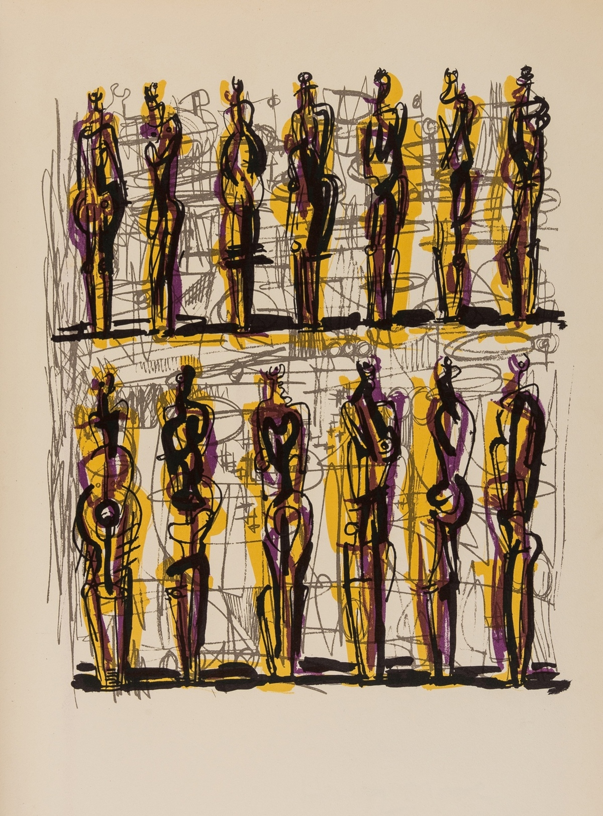 Henry Moore (1896-1986) Heads Figures and Ideas (Cramer 149)