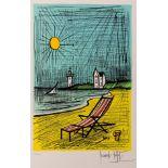 Bernard Buffet (1928-1999) Deck Chair
