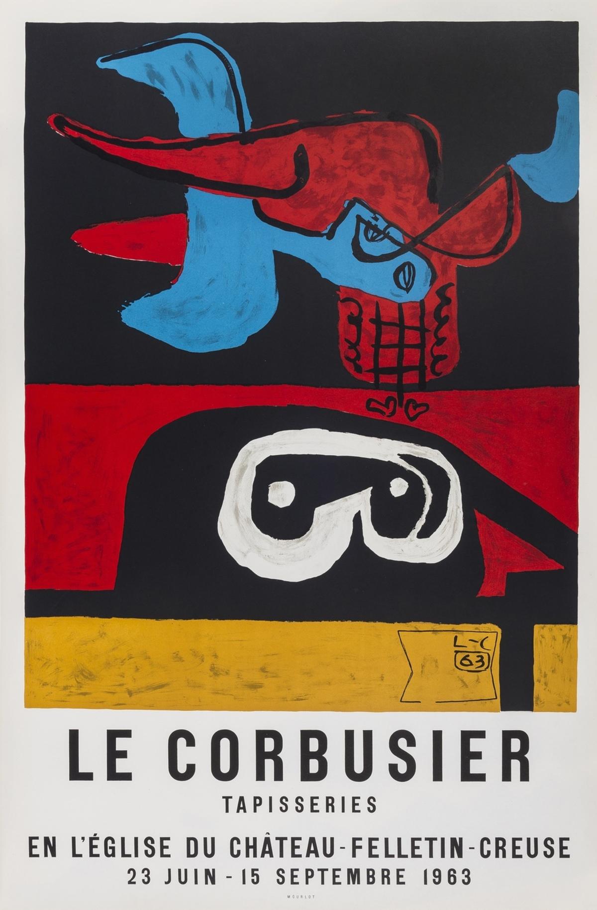 Le Corbusier (1887-1965) Affiche pour la Tapisseries
