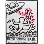 Keith Haring (1958-1990) Keith Haring 83. Galerie Watari - Tokyo-Japan