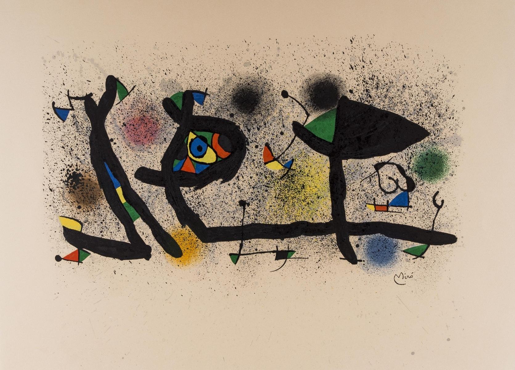 Joan Miro (1893-1983) Sculptures (Mourlot 950)
