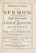 Evans (John) Moderation Stated: in a Sermon Preached before the... Lord Mayor and Aldermen of the …
