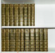 """Binding.- Daudet (Alphonse) Oeuvres Complètes, 18 vol., """"Edition Definitive"""", Alexandre Houssiaux, …"""