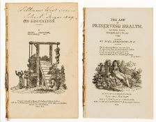 Nicholson (G., publisher).- Preserving health.- Armstrong (John) The art of preserving health. In …