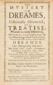 Goodwin (Philip) The Mystery of Dreames, first edition, A.M. for Francis Tyton, 1658.