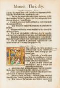 Psalms, English.- [The Psalmes of David], some contemporary hand-colouring to initials and …
