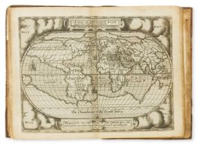 Hondius map.- Broughton (Hugh) A Concent of Scripture, first edition, first issue, for Gabriell …