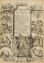 George Steevens' copy.- Coryate (Thomas) Coryats Crudities Hastily gobbled up in five Moneths …