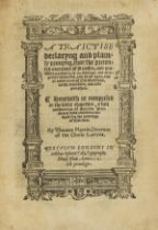 Clergy & marriage.- Gardiner (Stephen, Bishop of Winchester) A Traictise declaryng and plainly …