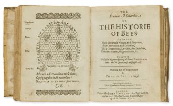 Butler (Charles) The Feminine Monarchie: or The Historie of Bees, second edition, Printed by John …