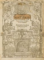Comines (Philippe de) The Historie of Philip de Commines Knight, Lord of Argenton, first edition …