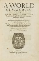 Estienne (Henri) World of Wonders: or, an Introduction to a Treatise Touching the Conformitie of …