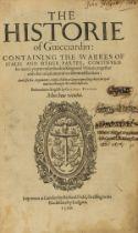 Italy.- Guicciardini (Francesco) The Historie of Guicciardin: Containing the Warres of Italie and …