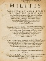 Marcelline (George) Vox Militis: foreshewing what Perils are Procured where the people of this, or …