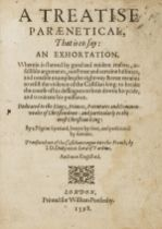 Anti-Spain polemic.- Treatise Paraenetical (A), that is to say: an Exhortation. Wherein is shewed …