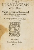 Lloyd (Lodowick) The Stratagems of Jerusalem: with the martiall lawes and militarie discipline, as …