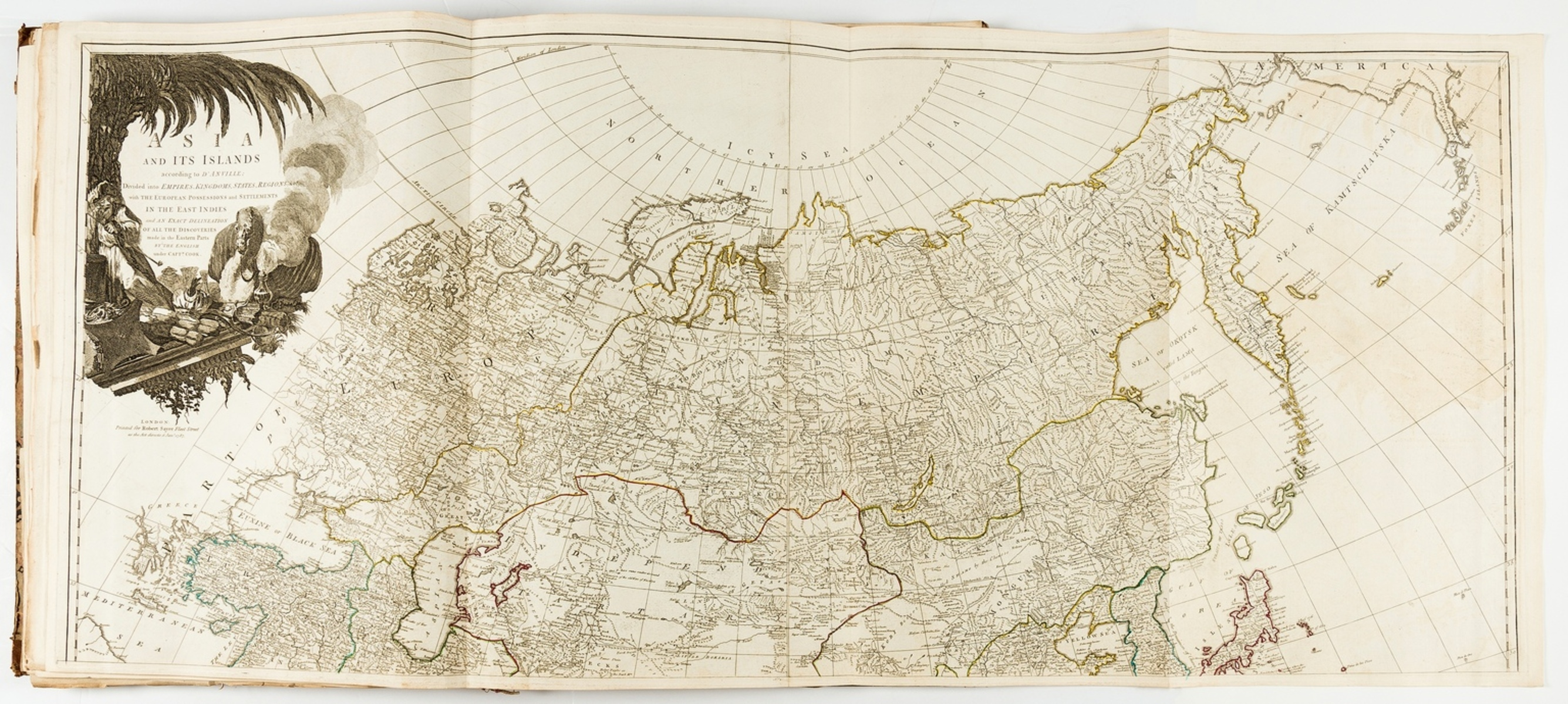 World.- Kitchin (Thomas) A General Atlas, describing the whole Universe, 24 map sections, [c. 1773].