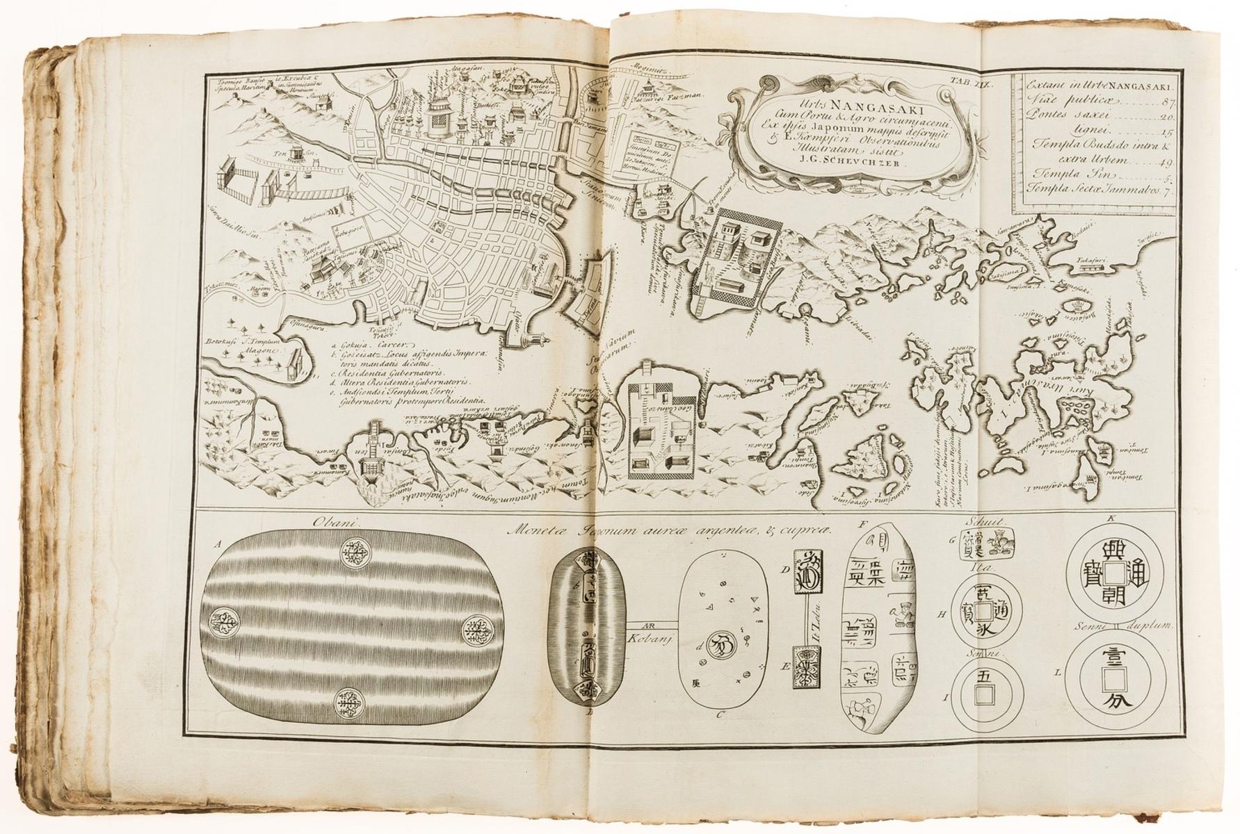 Japan.- Kaempfer (Englebert) Historia Imperii Japonici [The History of Japan], translated by J. … - Image 3 of 3