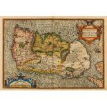Ireland.- Ortelius (Abraham) Eryn. Hiberniae, Britannicae Insulae, Nova Descriptio. Irlandt, [c. …