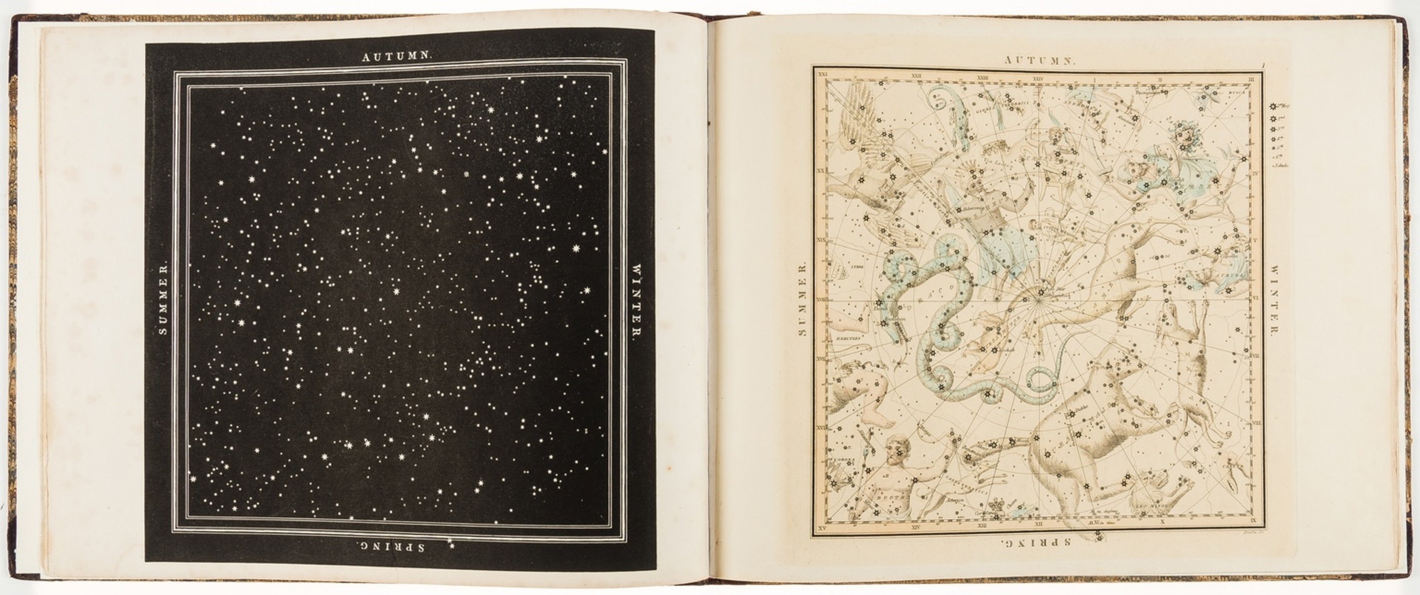 Celestial Atlas.- Middleton (James) A Celestial Atlas containing Maps of all the Constellations …