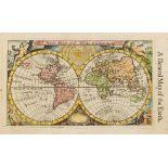 World.- Morden (Robert) A New Map of ye World, [c.1680].