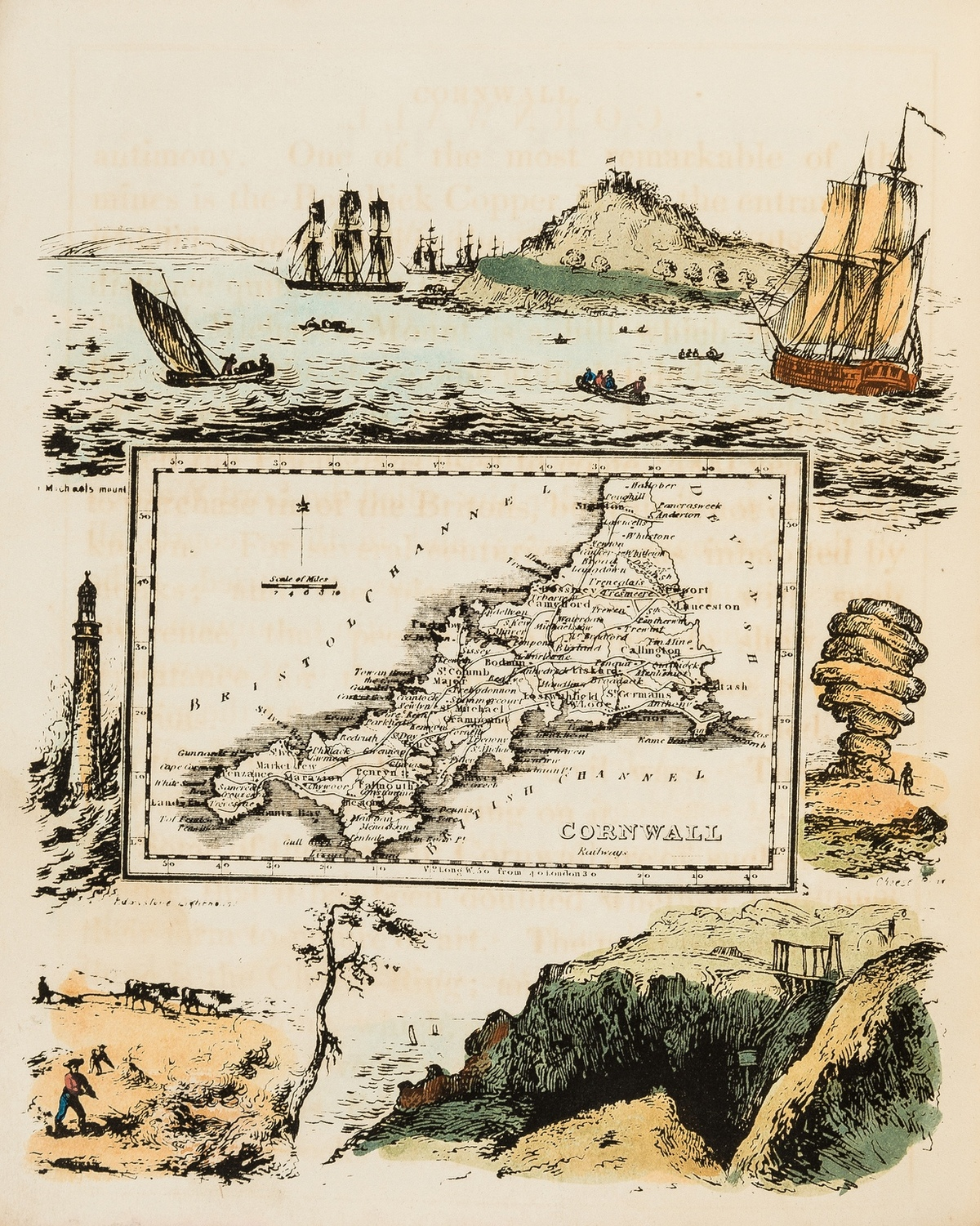 England.- Ramble (Reuben) Travels in the Western Counties of England, 1845.