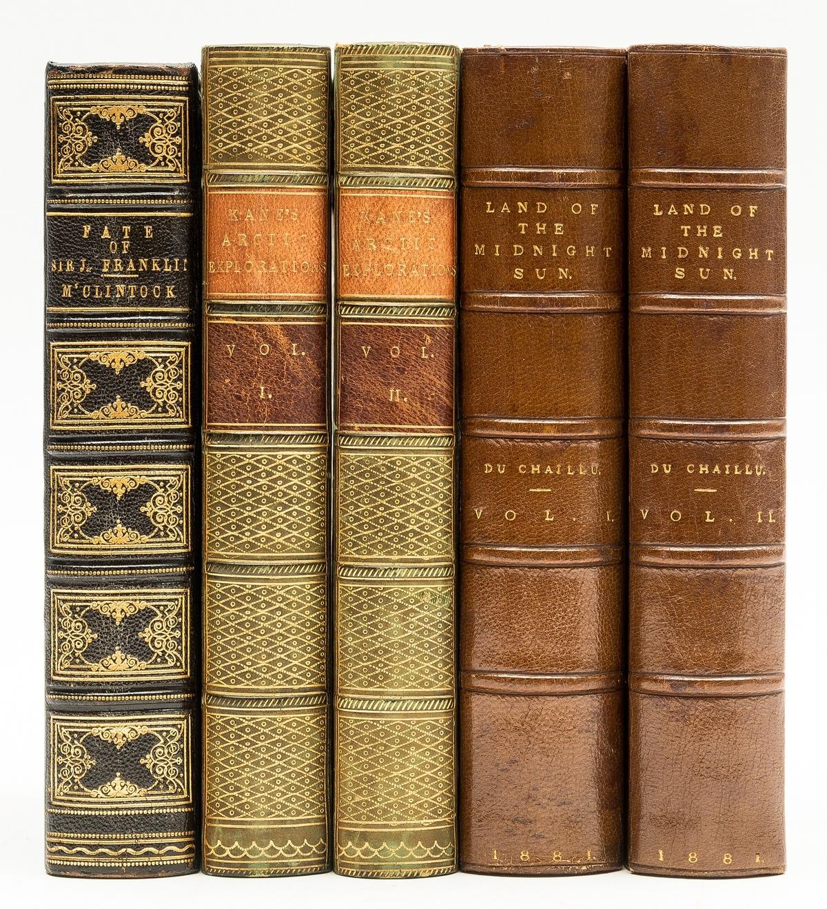 Polar.- Du Chaillu (Paul B.) The Land of the Midnight Sun, 2 vol., first edition, 1881; and …