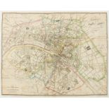 France.- Paris.- Collection of 20 plans of Paris and its environs, 18th and 19th century (20)