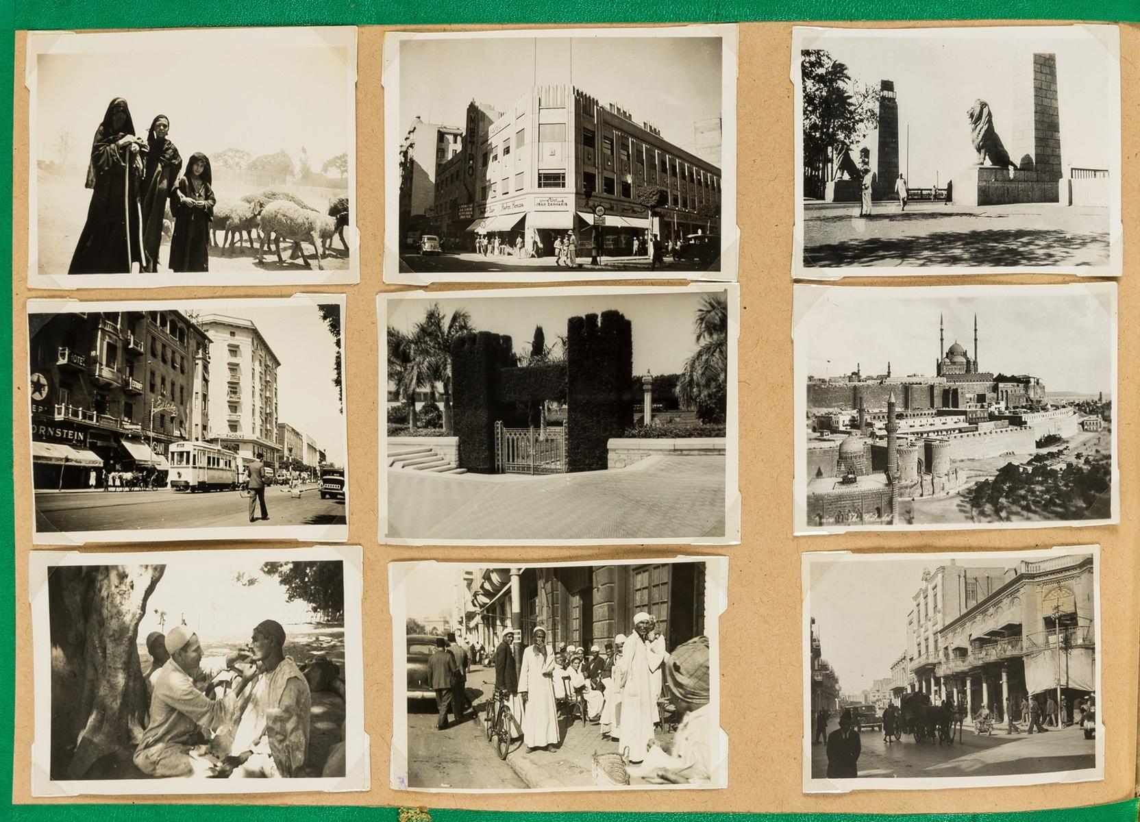 World.- Photo album, c.600 photographic prints, c.1940's. - Image 3 of 3