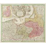 Poland.- Seutter (Matthäus) Borussiae Regnum, [c. 1730].