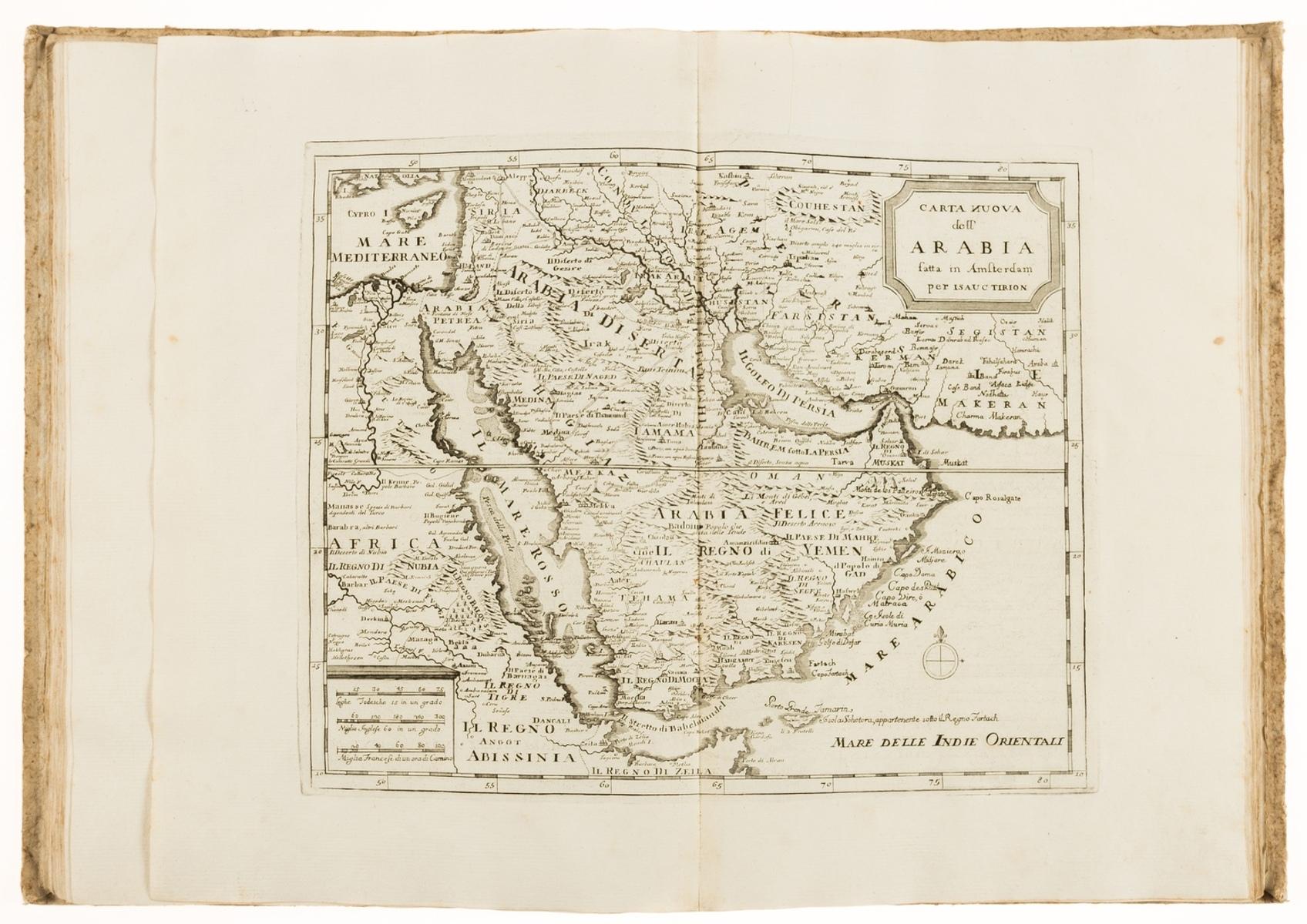 De L'Isle (Guillaume) Atlante novissimo che contiene tutte le parti del mondo, nel quale sono …