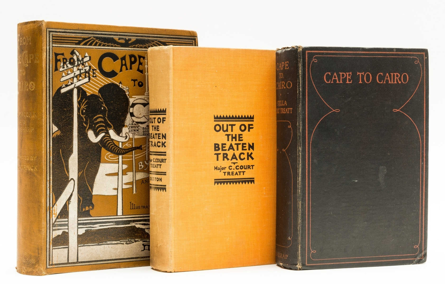 Africa.- Treatt (Stella Court) Cape to Cairo: the Record of a Historic Motor Journey, first …