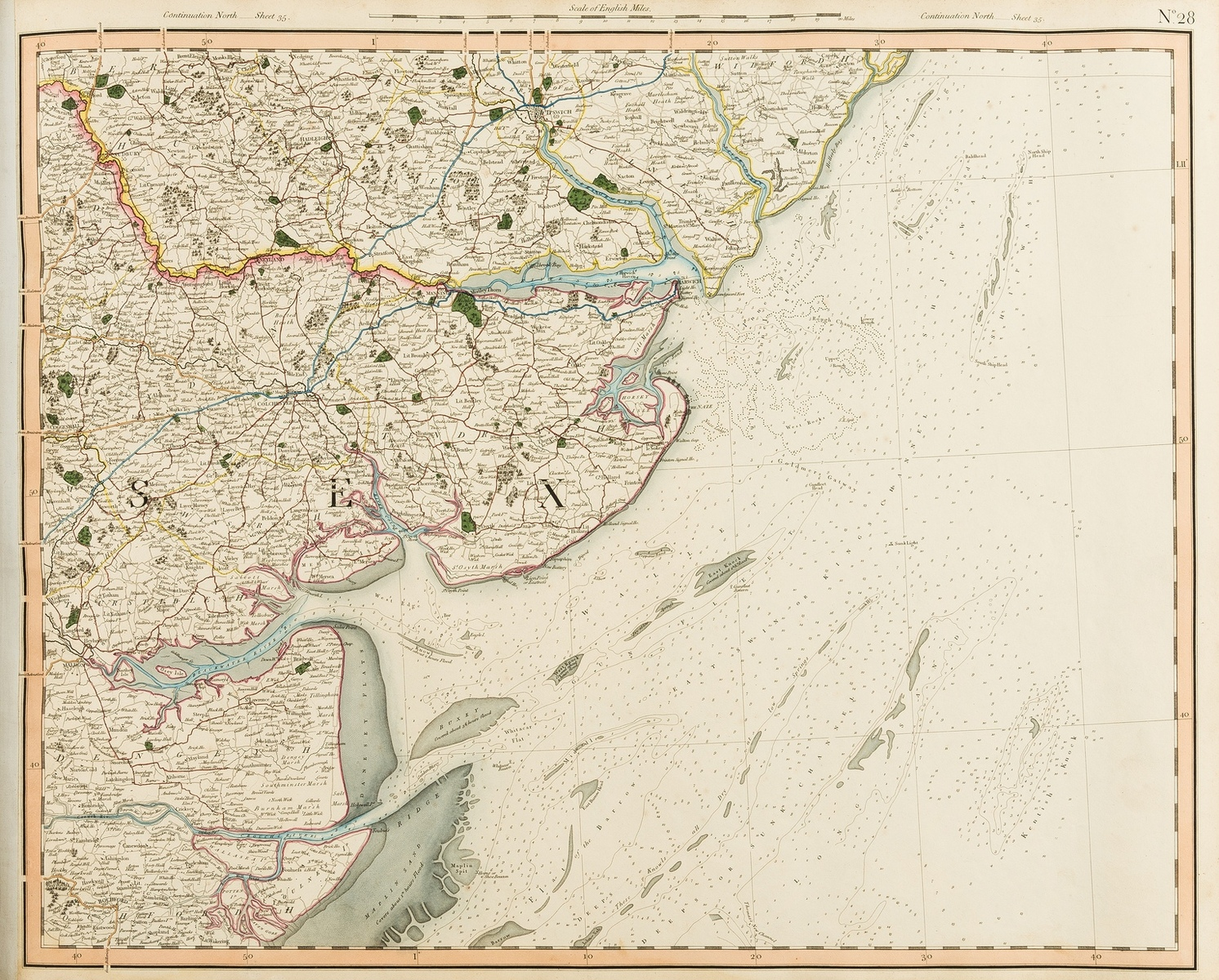 Britain.- Cary (John) Cary's Improved Map of England and Wales, hand-coloured maps, 1832.