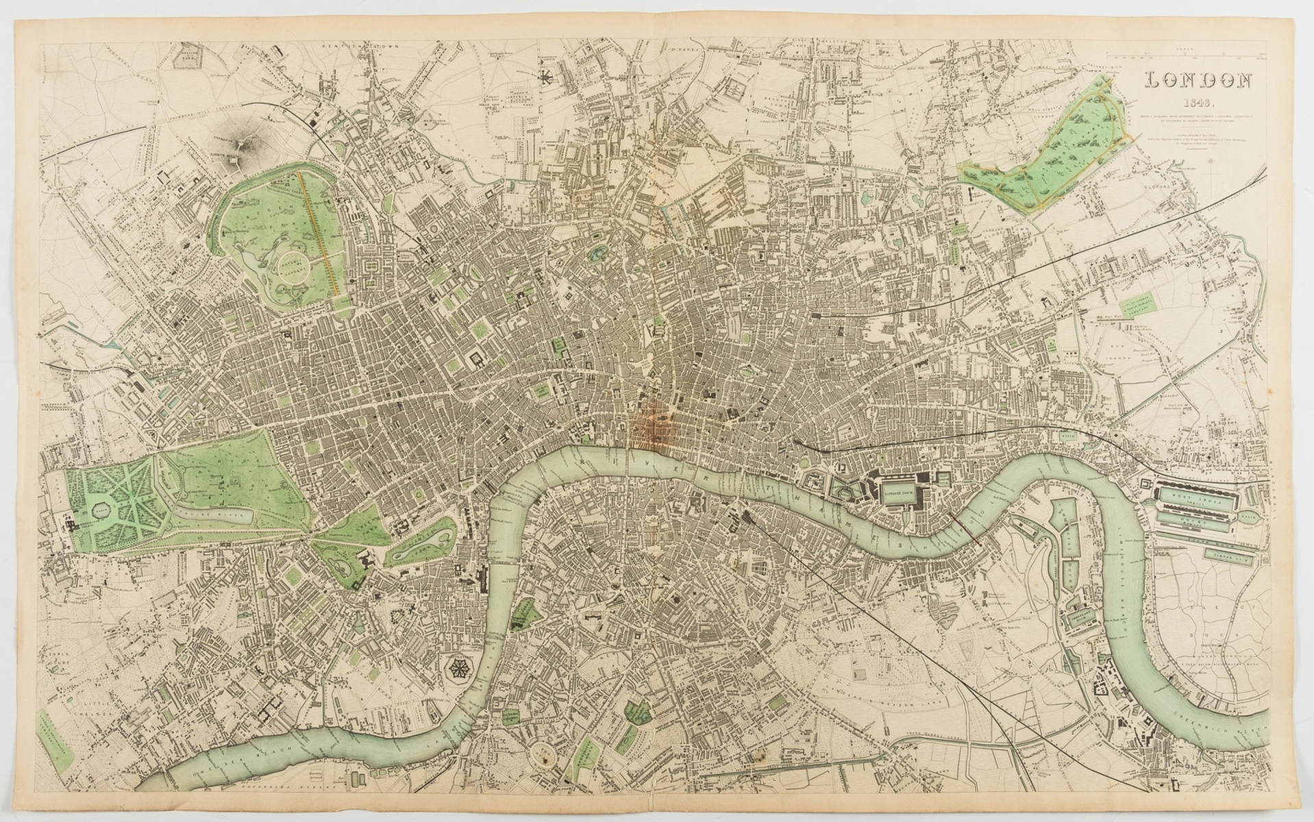 London.- Davies (Benjamin Rees) London..., Drawn and engraved from authentic documents & personal …