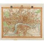 London.- Walker (J. & C.) A Plan of London and its Environs, 1834.