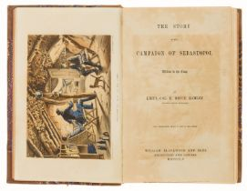 Crimea.- Hamley (Lt.-Col. E.Bruce) The Story of the Campaign of Sebastopol, first edition, 1855.