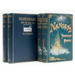 """Polar.- Peary (Robert Edwin) Northward over the """"Great Ice"""", 2 vol., first English edition, 1898; …"""