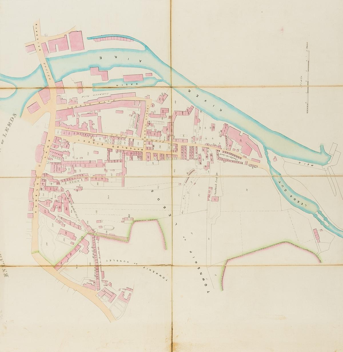 Railways.- North Midland Railway.- Stephenson (George) [Plan and Section of George Stephenson's …
