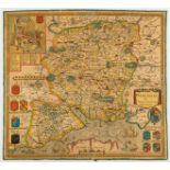 Hampshire.- Saxton (Christopher) Hampshire, [c. 1695].