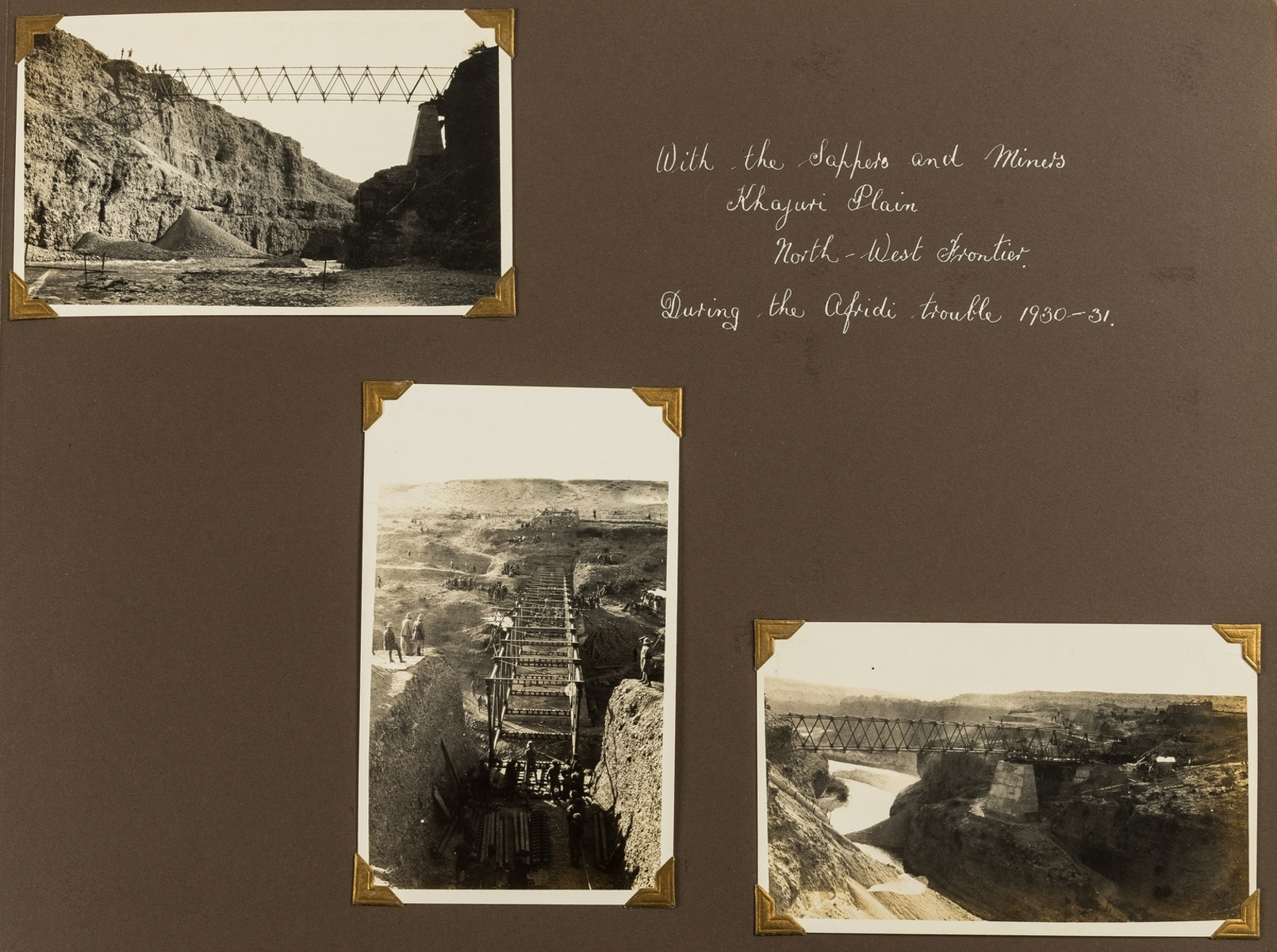 India.- Photo album, c.195 photographic prints, c.1920s-30s. - Image 3 of 4