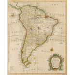 South America.- Seale (Richard William) A Map of South America with All the European Settlements & …