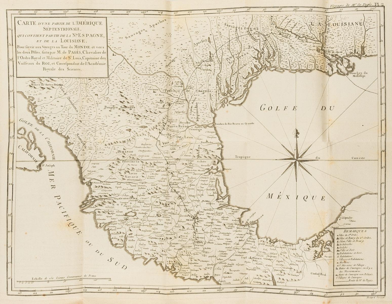 Voyages.- Pages (Pierre Marie Francois, Vicomte) Voyages autour du Monde, et vers les Deux Poles, …