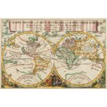 World.- Luyts (Jan) Mappe-Monde ou Carte Generale du Globe Terrestre, Representee en Deux …