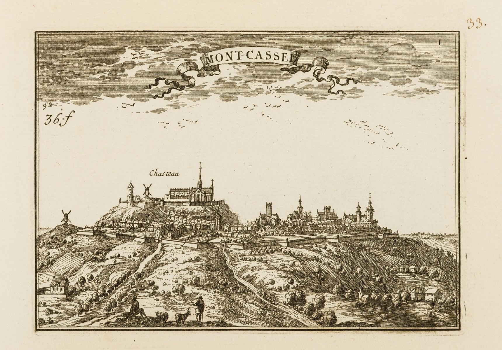 France.- Beaulieu (Chevalier de) [Les Plans et Profils des principales Villes et lieux …