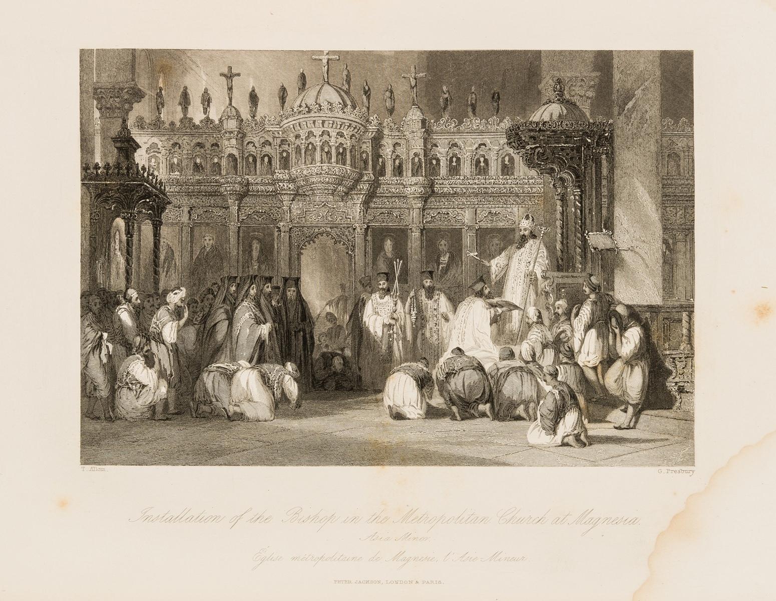 Turkey.- Allom (Thomas) The Turkish Empire Illustrated. Fisher's Illustrations of Constantinople …