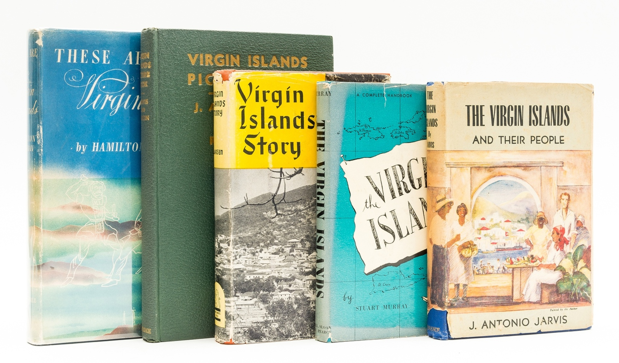 The Virgin Islands.- Jarvis (J. Antonio) The Virgin Islands and Their People, 1944; and 4 others …