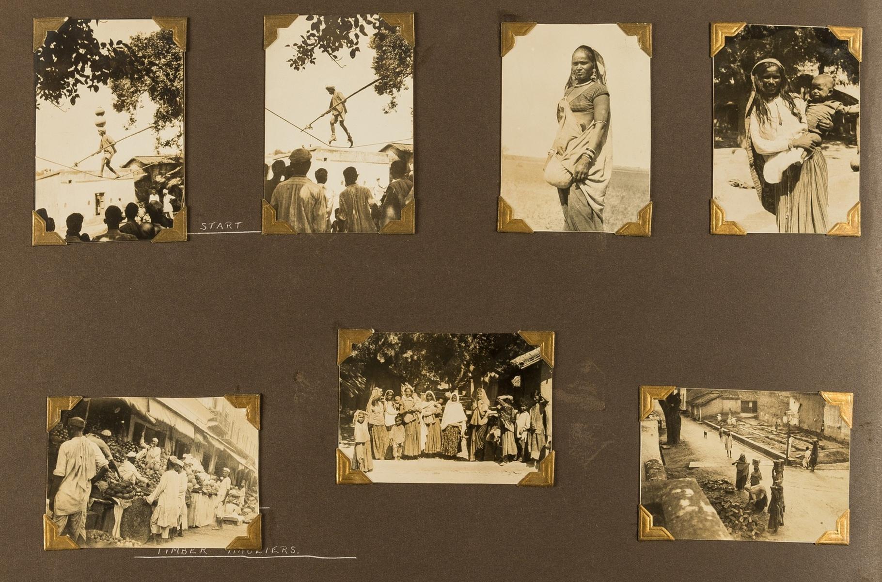 India.- Photo album, c.195 photographic prints, c.1920s-30s. - Image 2 of 4